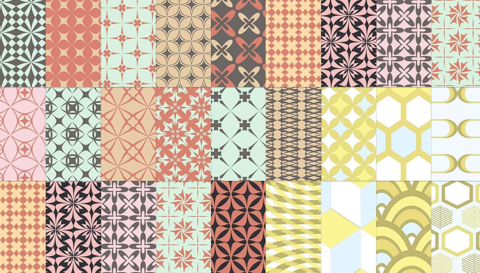 Free download: 25 free retro patterns   Webdesigner Depot