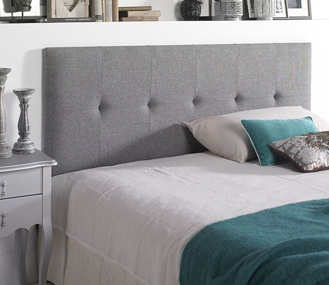 Ideas para cabeceros de cama sorprendentes me gusta - Cabeceros acolchados cama ...