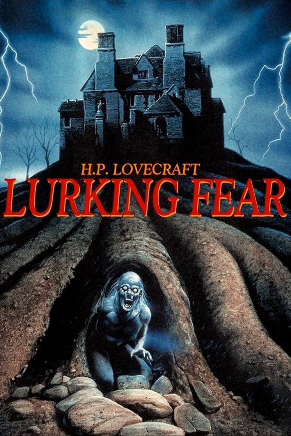 Lurking Fear 1994 Movie Poster Night Of The Demons Guys Be