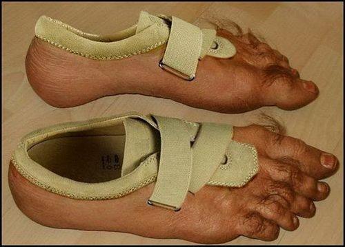 Humor. I love fun shoes.