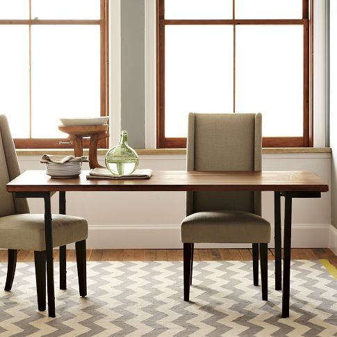 Industrial Dining Table 799 00 Handsome Hardworking And One Of A Kind Just Like The Perf Industrial Dining Table Simple Dining Table Dining Room Table