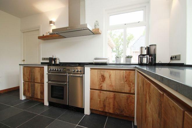Houten Keuken Ideas : Ruw houten keuken maatwerk by jp walker keukens