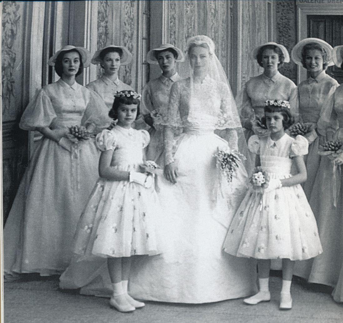 Grace Kelly & Rainier III, Prince Of Monaco Wedding Day