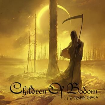 #ChildrenOfBodom's new album, what a f**kin' great artwork. I hope that the book can be judged by the cover ;)