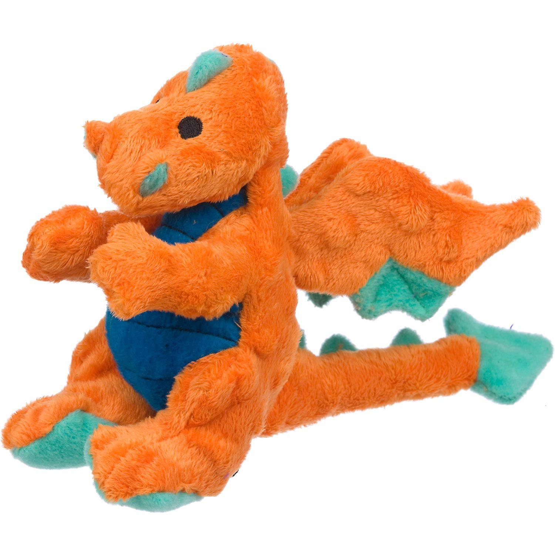 Sherpa Go Dog Mini Plush Orange Blue Dragon Dog Toy With Images