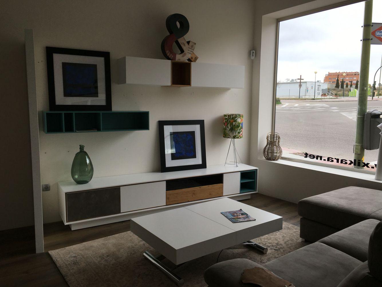 Mueble de sal n de dise o xikara design pinterest for Muebles imitacion diseno