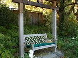 I can't wait to have a swing in our yard. If only I could find a swing this would be ideal for mounting purposes.