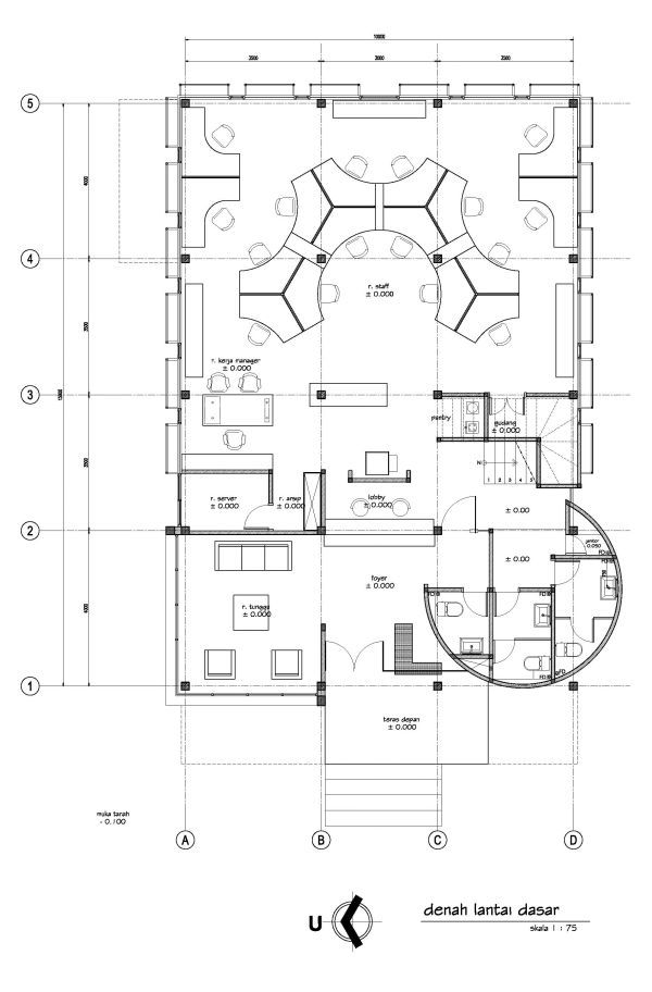 Executive Office Layout Design