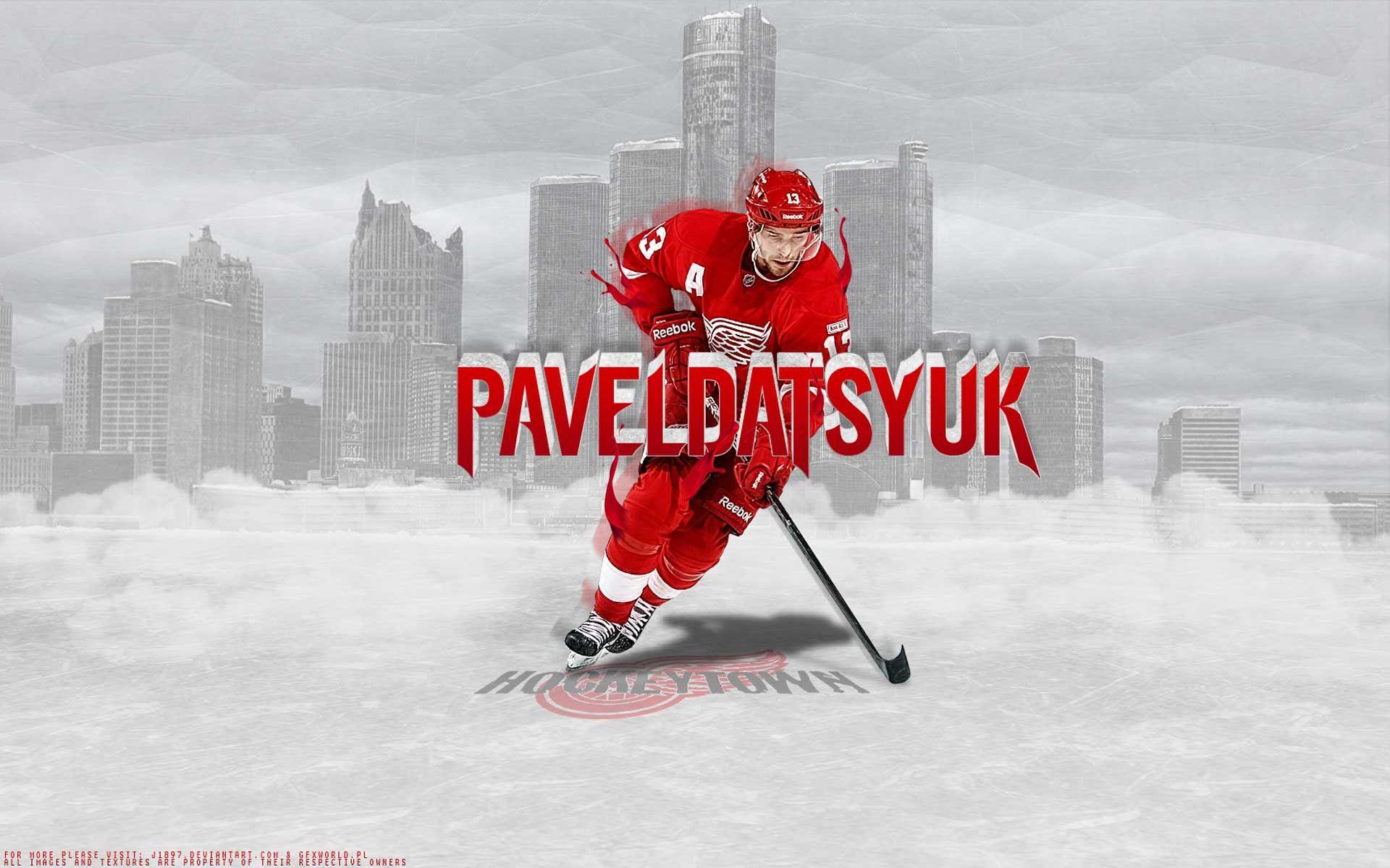 Hockey nhl dat detroit red wings pavel datsyuk wallpaper   (25451)