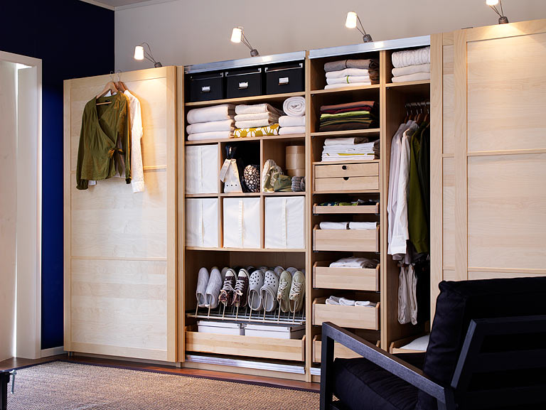 Schlafzimmer ikea pax  pax wardrobe walk in - Google Search | Closet | Pinterest ...