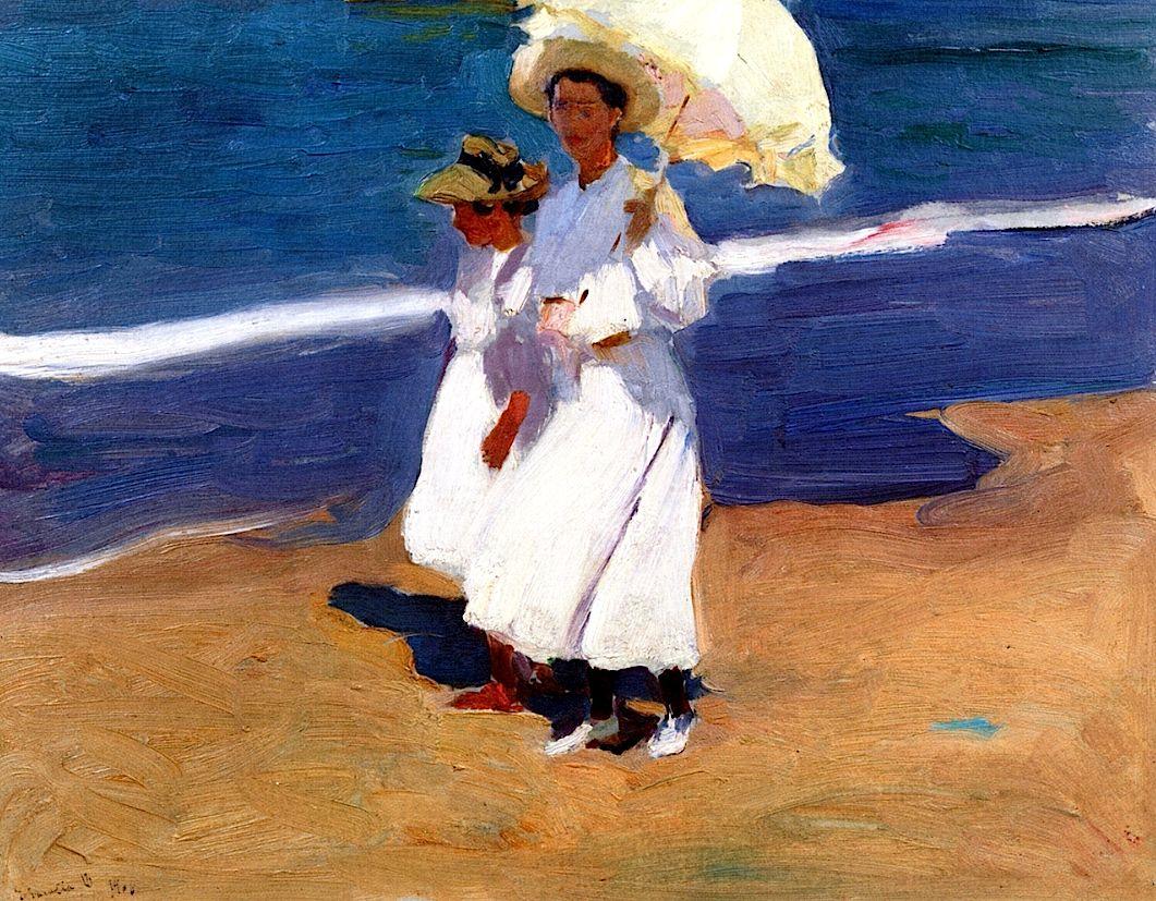 By the Seaside Joaquin Sorolla y Bastida - 1906