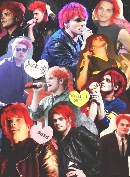 Gerard Collage | Gerard way, Gerard way red hair, My ...