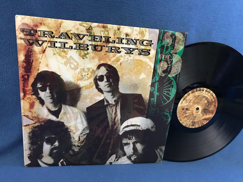 Rare Vintage Traveling Wilburys Vol 3 Vinyl Lp Record Album Original 1990 Press Bob Dylan Tom Petty Georg Travelling Wilburys Roy Orbison Tom Petty