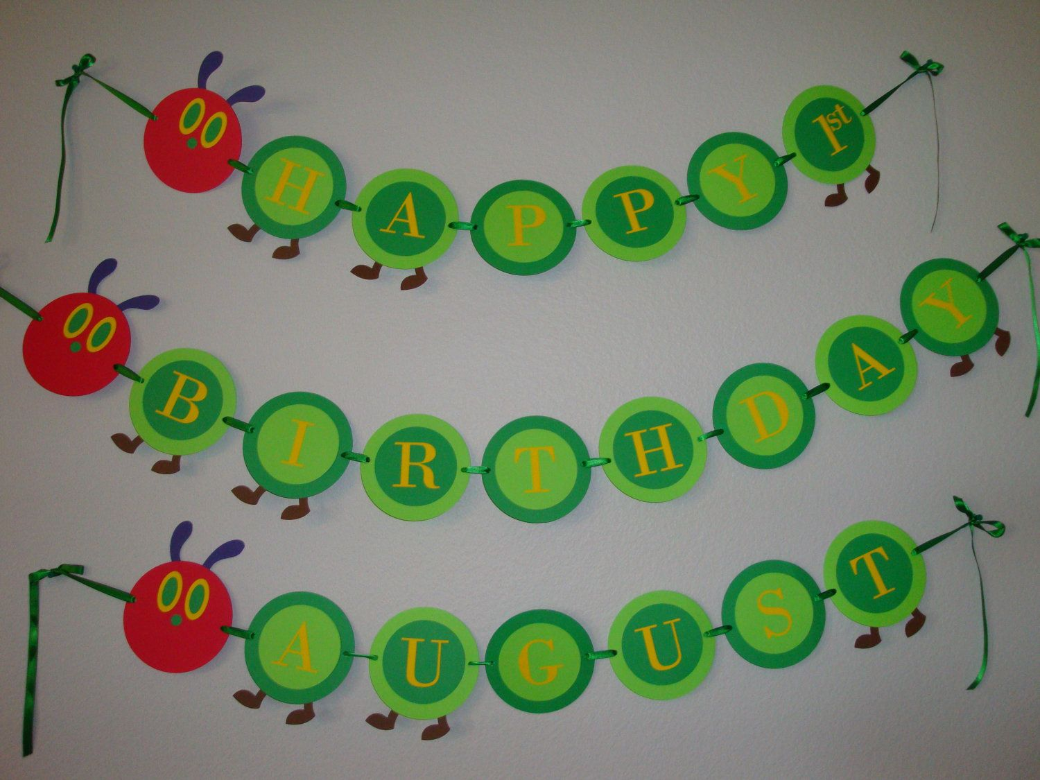 The very hungry caterpillar banner personalized birthday party very hungry caterpillar birthday banner bookmarktalkfo Image collections