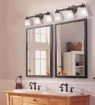 Espejo dahouse ba os pinterest espejo y ba o - Iluminacion para espejos de bano ...