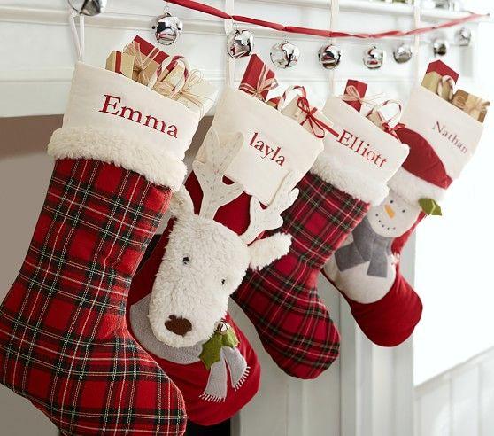 Luxe Velvet Stocking Collection Święta Pinterest Stockings
