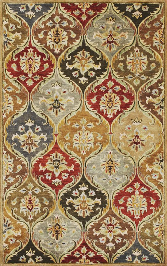 Kas Oriental Syriana Panel Jeweltone Rug | Traditional Rugs