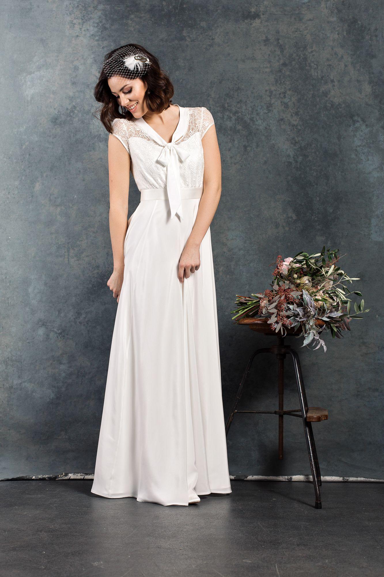 Labude Brautkleid Eveline - Bridal Dress Vintage Style 11s 11er