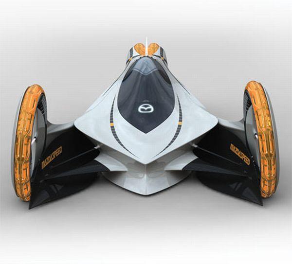 MAZDA_Futuristic cars that run on electricity : Designbuzz