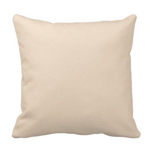 Barely Beige Throw Pillow Cream Throw Pillows Decorative