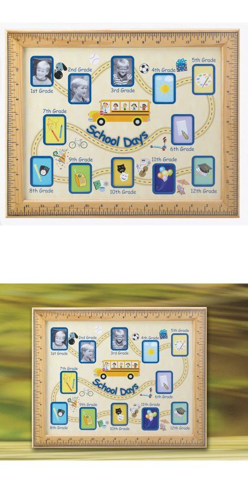 Gifts & Decor School Days Wall Hanging Photo Frame | Picture Frames ...