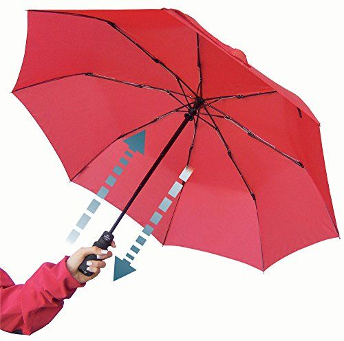 Euroschirm Light Trek Umbrella Beauteous Euroschirm Light Trekking Umbrella With Flashlite Red ** Want To Review