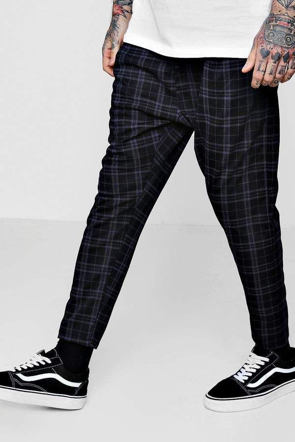 77bedfd56046 Smart Checked Jogger in 2019 | Products | Checkered trousers ...