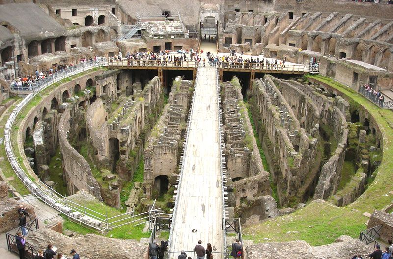 Today The Colosseum In Rome Italy Is The Most Famous