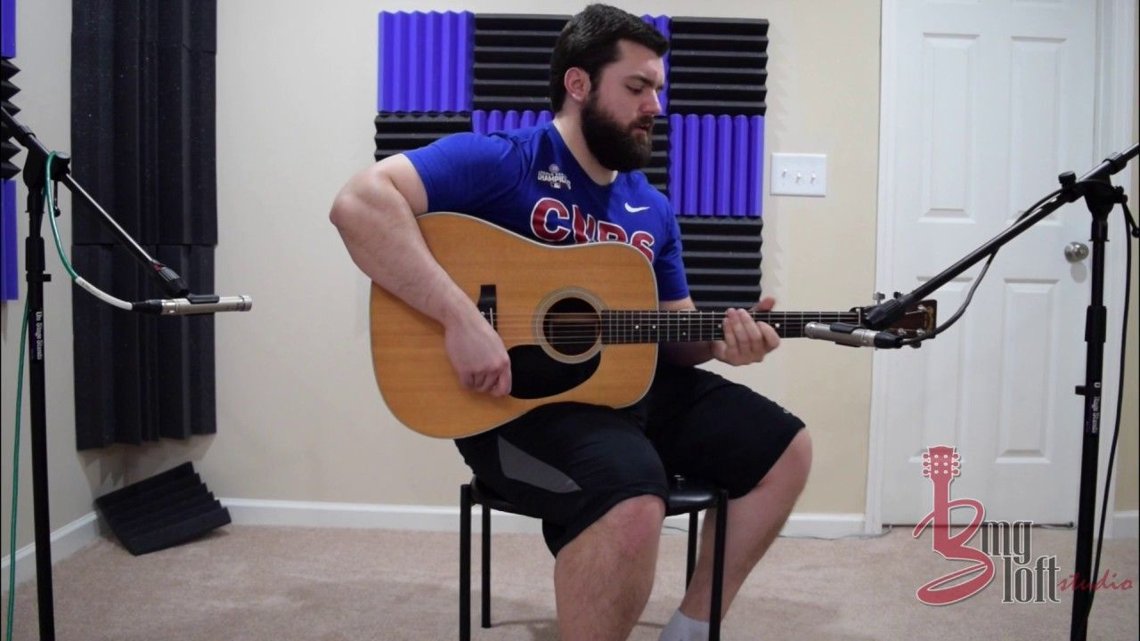 For All My Musicians Out There Check Out How I Like To Record Acoustic Guitar From The Bmg Loft Studios Youtube Channel Guitar Acoustic Guitar Great Videos