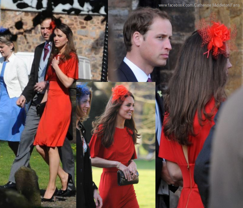 Kate Middleton And Prince William Attended The Wedding Of David Jardine Paterson Emilia D Erlanger April
