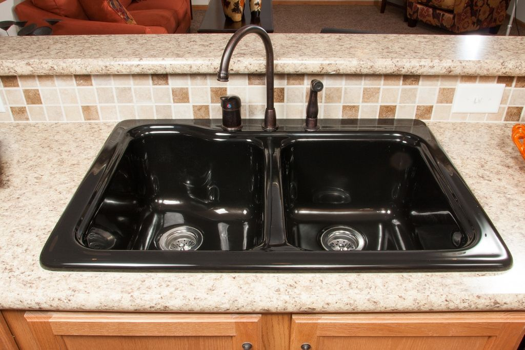 Oakdale Ii Rg748a Grandville Le Modular Ranch Kitchen Sink Black Acrylic Very Nice