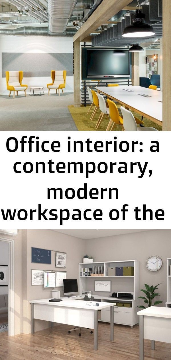 Office interior: a contemporary, modern workspace of the design studio 3,  #Contemporary #design #executivehomeofficedesignworkspaces #Interior #modern #office #Studio #workspace
