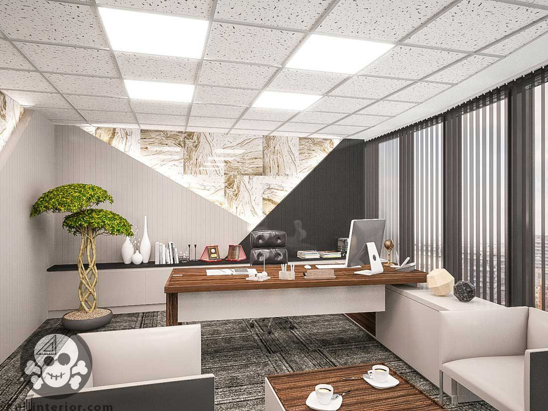 Director Room Yonetici Odasi Ofis Ofis Mobilyasi Ic Tasarim