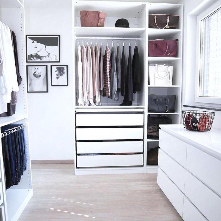 """IKEA Deutschland on Instagram: """"Wer träumt nicht von einem Ankleidezimmer wie #zuhausebei @janina_mirjam? #IKEAregram #PAX #meinIKEA • PAX Korpus Kleiderschrank 80.- Euro…"""""""