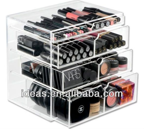 High Quality Wholesale Acrylic Makeup Organizer With Drawers $20~$25