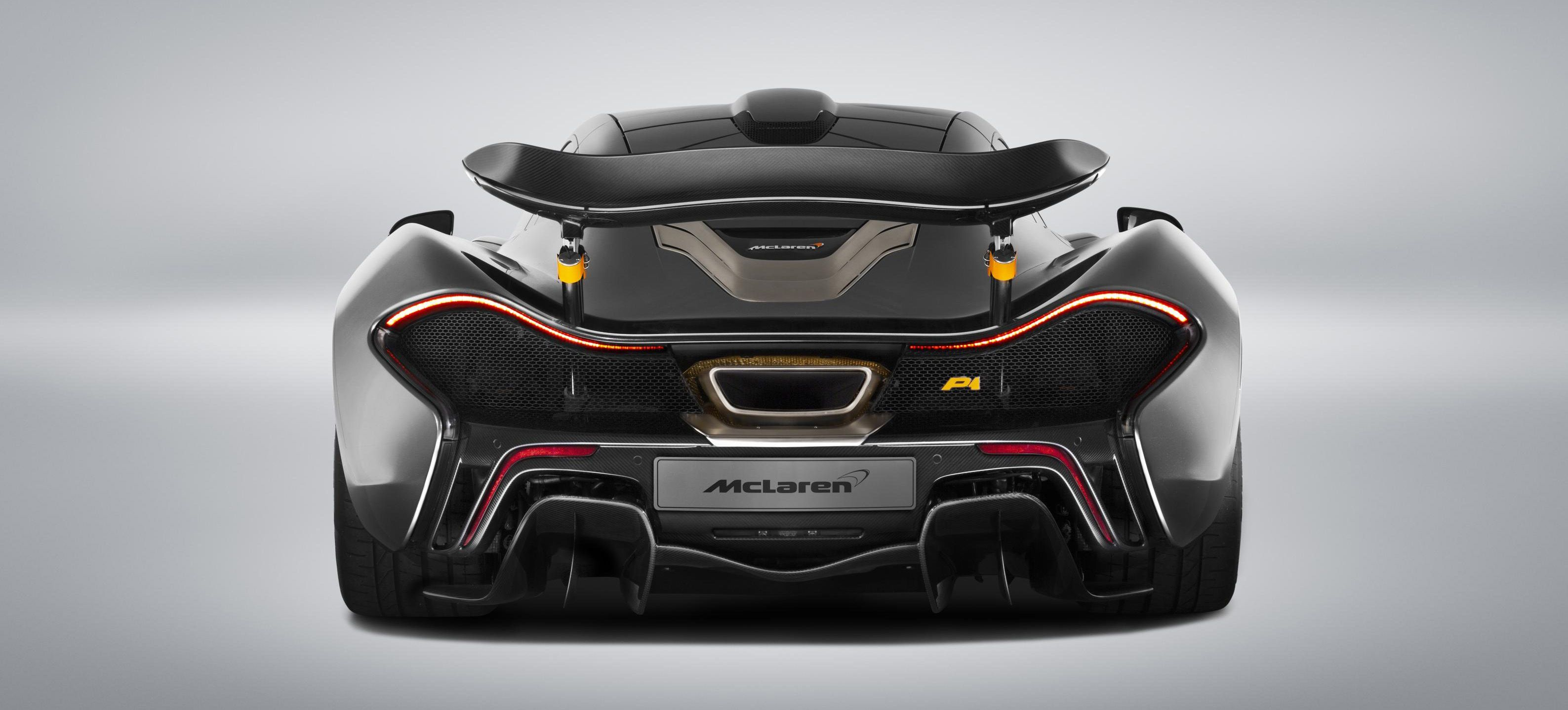 This Stealth Grey And Orange Bespoke McLaren P1 Is A Symphony