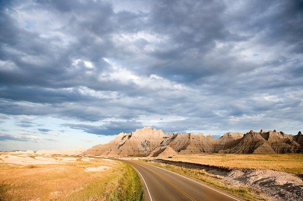 South Dakotas Badlands made the headlines Tuesday afternoon for reasons you wouldn't expect. [STORY]
