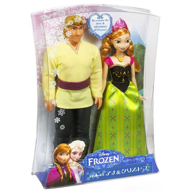"New Elsa of Arrendelle /& Kristoff 12/"" MATTEL 2013 DOLLS DISNEY FROZEN Anna"
