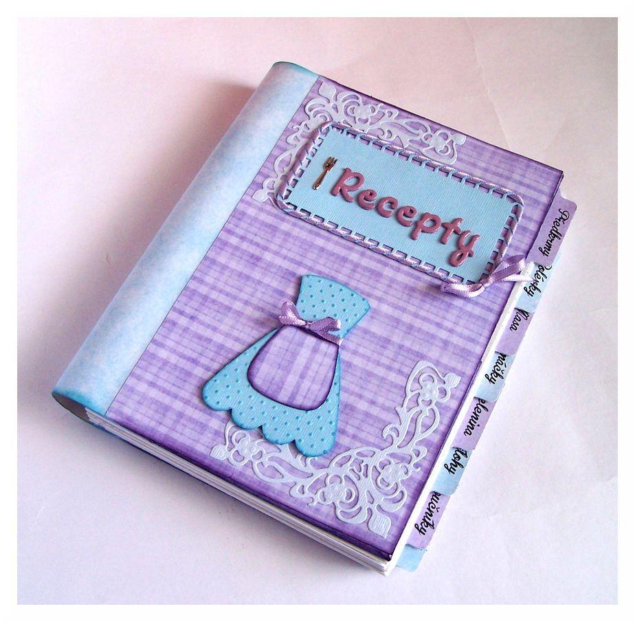 How to scrapbook a recipe book - Recipe Book Scrapbook Com
