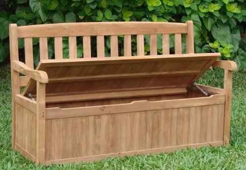 Patio Furniture Cushion Storage Boxes - Foter
