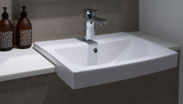 SEMI BASIN - Google Search | BATHROOM | Pinterest | Semi recessed ...