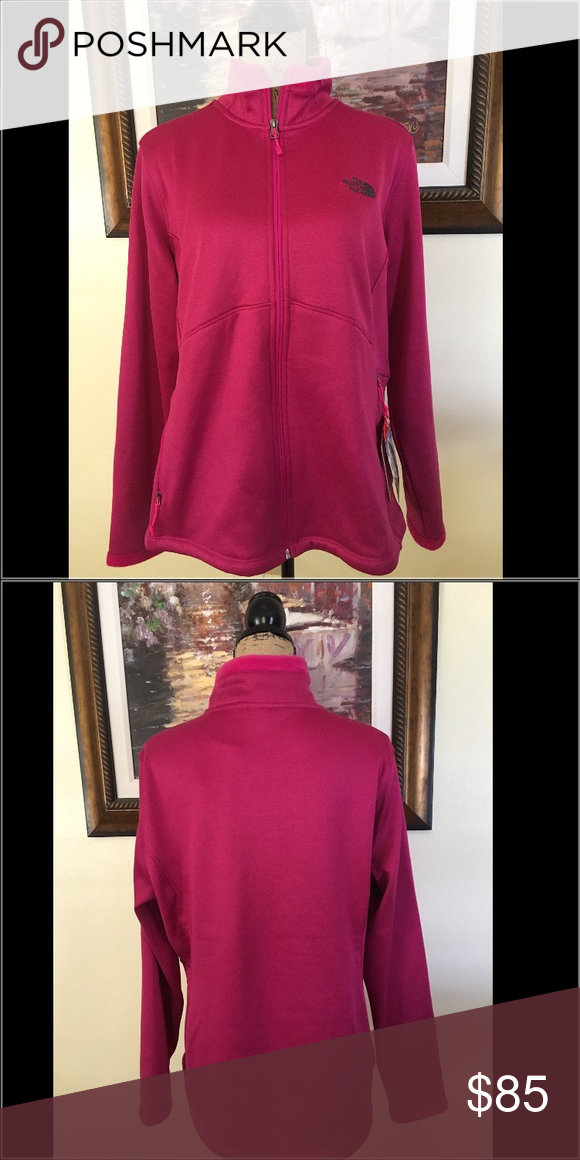 The North Face Jacket The North Fave Jacket.  NWT.  Soft, comfortable and perfect to stay warm.  Love this color! The North Face Jackets & Coats