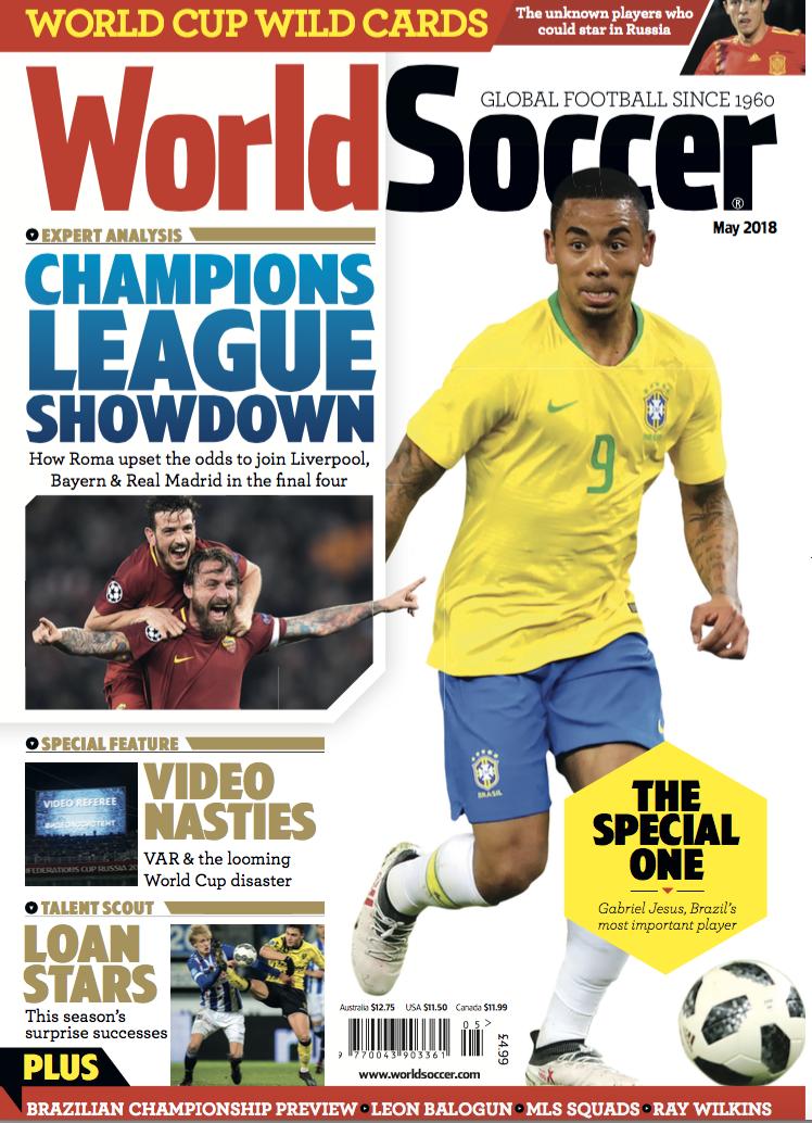World Soccer Cover World Soccer Magazine World Cup Sports Magazine
