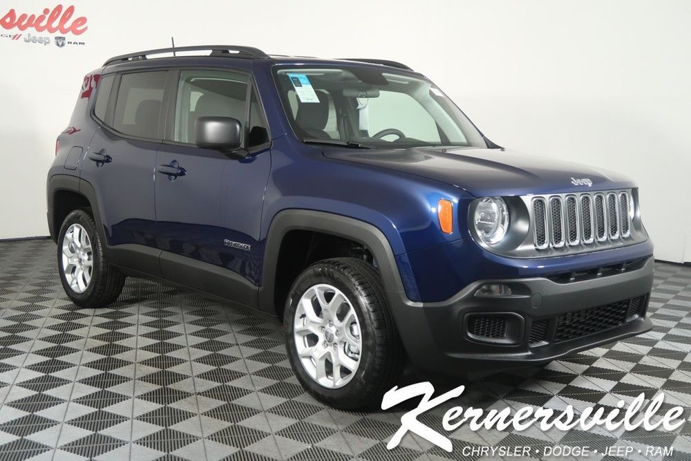 Ebay 2018 Jeep Renegade Sport 4wd Suv Backup Camera Keyless Go Push Start Uconnect New 2018 Jeep Renegade Sport 4wd Suv Backup Camera Car Goals Car