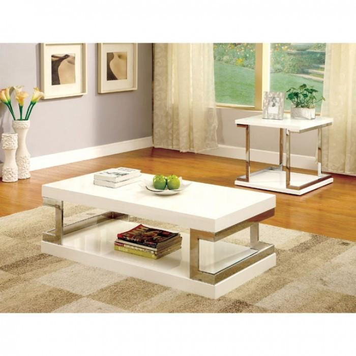 furniture of america meda 3 pc occasional table set coffee table rh pinterest com
