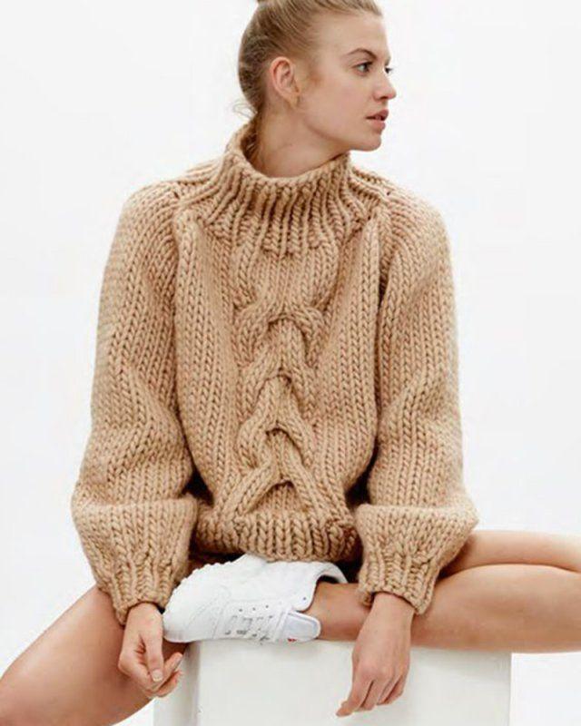 14 pulls que l on a envie de se tricoter   Kardigánok, pulóverek ... ed40ad30b695