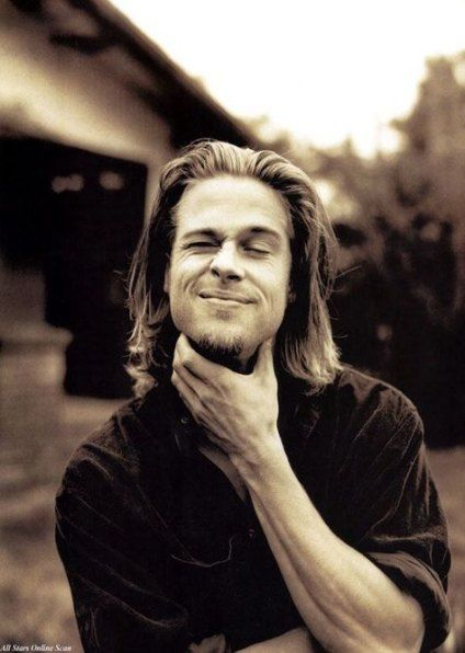 52 Ideas Hair Long Men Brad Pitt For 2019 #hair | Brad ...
