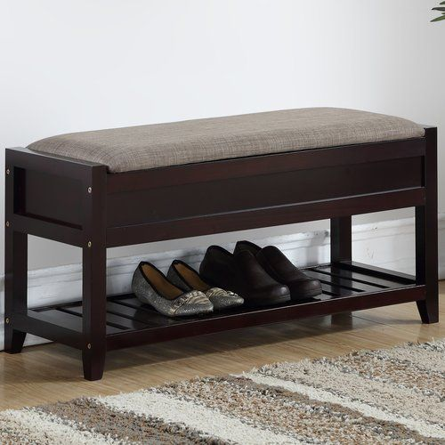 Lambrecht Upholstered Storage Bench Storage Bench Bench With