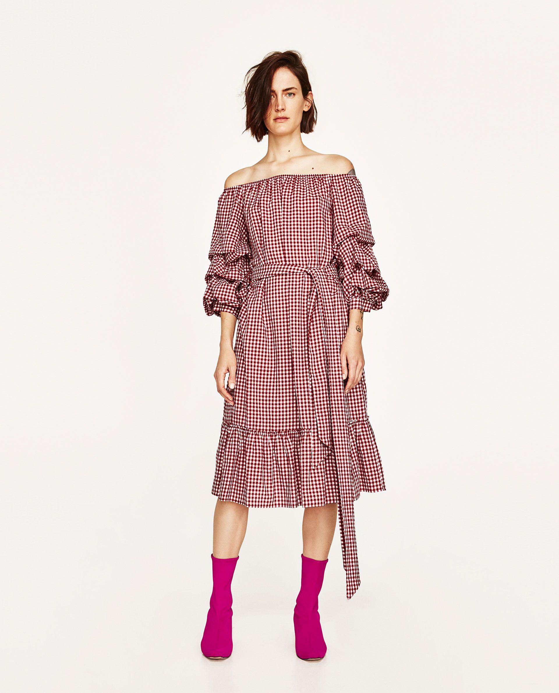 ZARA  Kleider damen, Coole kleider, Modestil