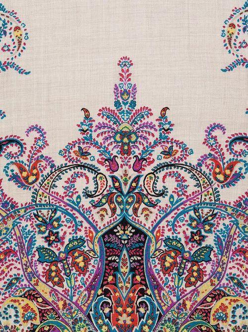 Bohemian Wallpaper   via Tumblr   art   Beautiful patterns ...